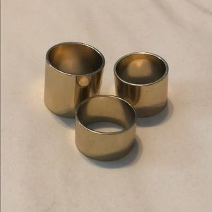 Jewelry - gold ring set!